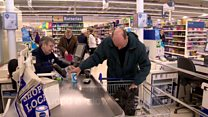Supermarket introduces 'relaxed' lane