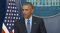 「気を付けないと現実は噛みつき返してくる」 オバマ氏最終記者会見