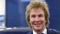 Millionaire plumber: 'No dodgy hairstyles'