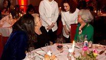 أنا الشاهد: لاجئة سورية تطعم ملكة هولندا الكبة الحلبية