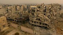 Aleppo 'haunted by violence and death'
