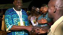 مراسم تحلیف رئیس جمهور جدید گامبیا در سنگال