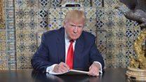 Maxaa laga filan karaa xafladda caleema saarka Donald Trump?