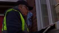 Is this Britain's oldest paperboy?