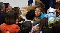 TBMM'de kadın vekiller arasında kavga