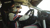 Top rally driver crowdfunding next race