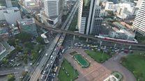 Así son las carreteras del segundo país del mundo con más muertes por accidentes