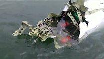 Vídeo feito de 1º barco a alcançar destroços mostra momentos após a queda de avião com Teori