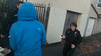 Race relations adviser tasered in face by police