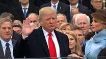 Як Дональд Трамп склав присягу президента