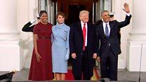Инаугурация Трампа: подарки, столкновения, присяга и гимн