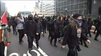 Агресивний протест у Вашингтоні