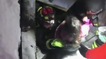 Survivors pulled from avalanche hotel