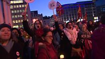 Global protests on Trump inauguration day