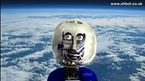 Robot sent into near space by school
