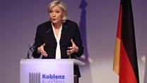 مرشحة اليمين المتطرف لرئاسة فرنسا: نحن نشهد ولادة عالم جديد