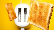 Is burnt toast a health risk?
