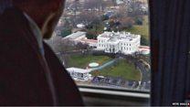 オバマ氏、米大統領としての最後の1日