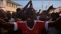 У столиці Гамбії вітають військових
