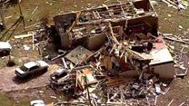 Последствия торнадо в Миссисипи
