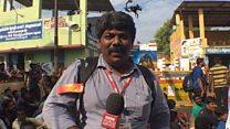 கேமரா லென்ஸ் பறிப்பு: என்ன நடந்தது? பிபிசி செய்தியாளர்  ஜெயக்குமார் விளக்கம்