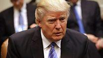 What happened when Trump met corporate leaders