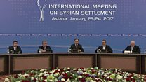 بيان مشترك حول محادثات السلام السورية في أستانة