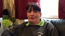 Former homeless woman talks to parliamentary inquiry group