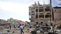 إنفجار انتحاري أمام أحد فنادق العاصمة الصومالية
