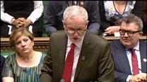 Corbyn gaffe over injured police officer