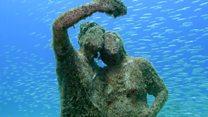 La extraordinaria belleza del primer museo subacuático de Europa