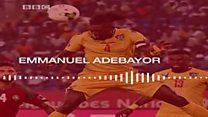 Adebayor akunda shampiyona y'Ubwongereza