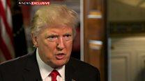 トランプ米大統領、水責め拷問は「もちろん効果がある」
