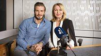David Beckham: 'I chose velvet knickerbockers & ballet shoes'
