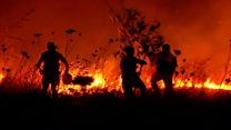 Chile battles against devastating fires