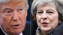 Theresa May 'could be Trump's long-lost sister'