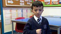 The deaf Iraqi boy who fled IS
