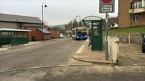 Bus station step-free access row
