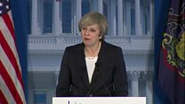 Мэй в Вашингтоне: Британии нужен американский рынок