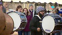 تظاهرات مخالفان سقط جنین در واشنگتن