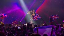 Who's representing the UK at Eurovision?