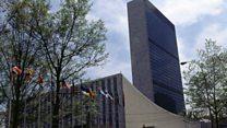 Trump oo qorsheynaya in UN uu ka jaro dhaqaalaha