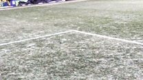 Groundsman sacked over frozen pitch