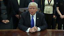 Trump: Executive order 'not a Muslim ban'