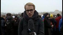 Акция в Петербурге против передачи Исаакиевского собора РПЦ