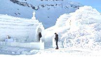 โบสถ์น้ำแข็งในโรมาเนีย