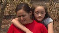 كيف أنقذت أم أطفالها من النيران المستعرة في تشيلي؟