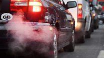 London air pollution at record high