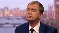 Farron: No mandate for Hard Brexit