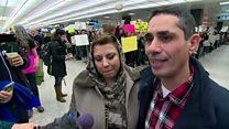 永住権を持っていても……ボストン空港で家族が拘束され